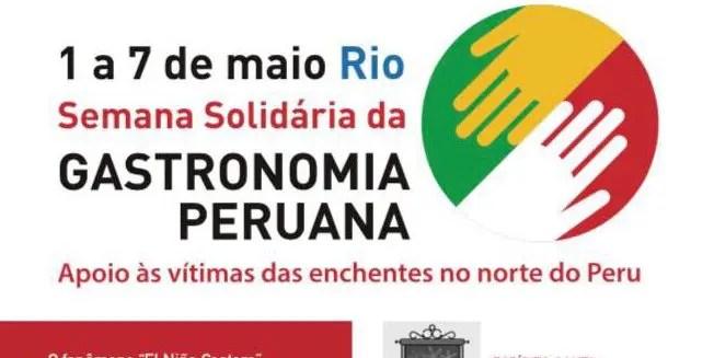 Restaurantes cariocas ajudarão vítimas de enchentes no Peru