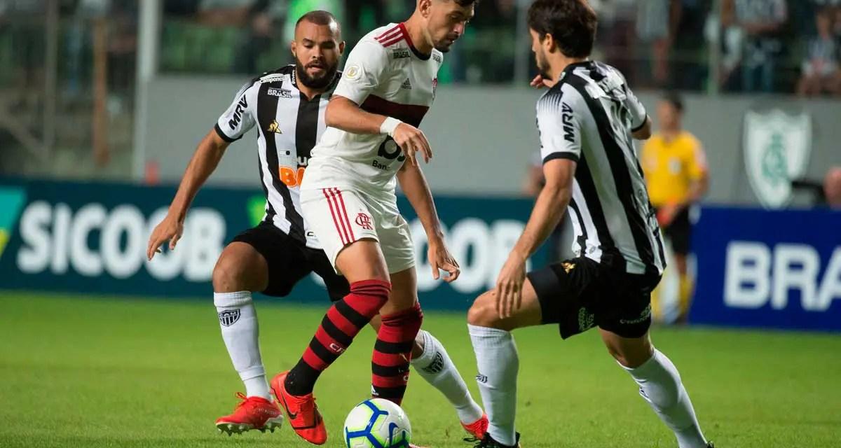 Crônica Atlético-MG 2×1 Flamengo: Mesmos erros