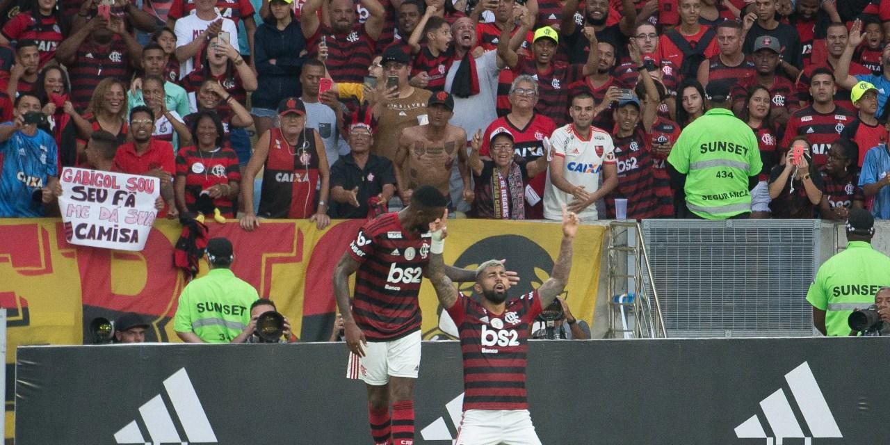 Flamengo tem seu melhor início como mandante na história do Brasileiro
