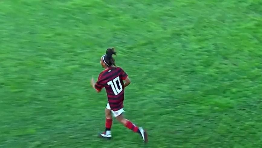 Com doblete de Maria Peck, Flamengo vence no Brasileiro Feminino Sub-18