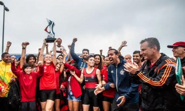 Flamengo vence a 4ª etapa do Campeonato Estadual de Remo