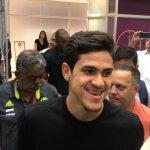 Chegou! Pedro desembarca no Rio para assinar com o Flamengo