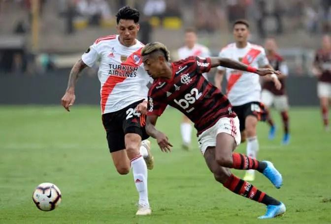 Na FLA TV, Bruno Henrique explica lance decisivo na Libertadores
