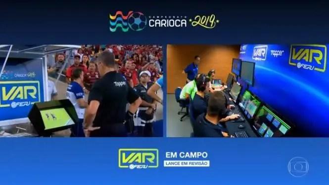 Carioca não terá representantes de clubes na cabine do VAR