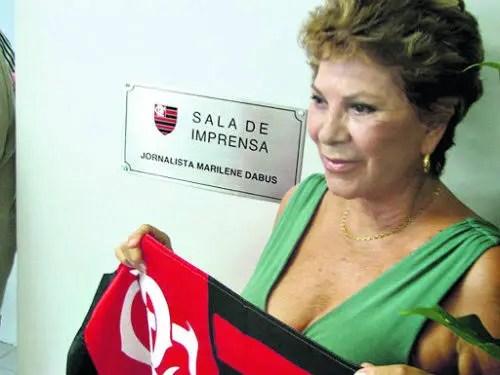 Eterna 'moça do Flamengo', Marilene Dabus morre aos 80