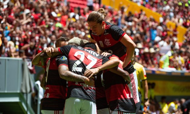 O que os jogadores do Flamengo falaram após o título da Supercopa