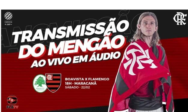 Boavista x Flamengo: acompanhe a final AO VIVO pela Fla TV