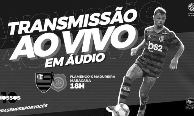 Flamengo x Madureira: acompanhe transmissão da Fla TV AO VIVO