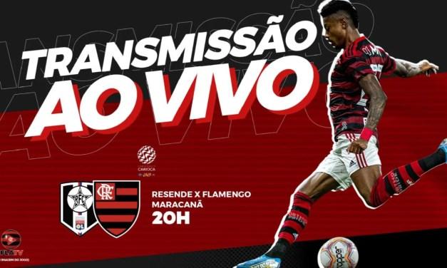 Resende x Flamengo: acompanhe a transmissão da Fla TV AO VIVO