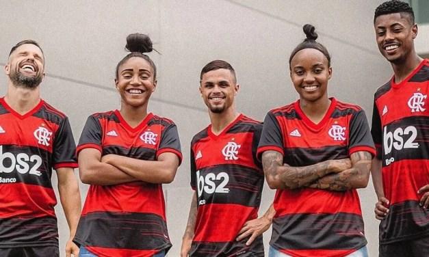 """Substituto de banco BS2, BRB fecha com o Flamengo e vibra: """"Vai gerar lucros para os dois parceiros"""""""