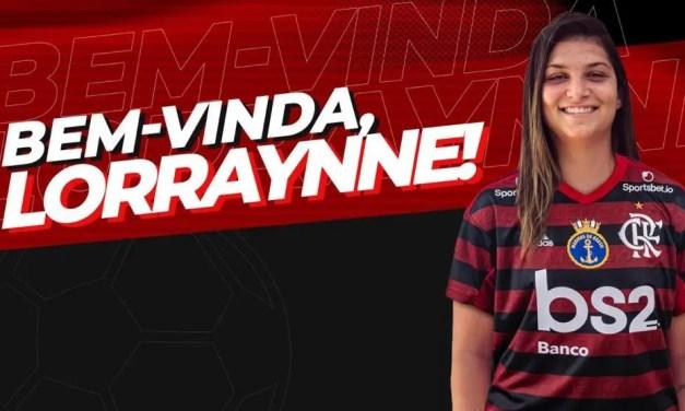 Lorraynne é mais uma atleta contratada pelo Flamengo/Marinha