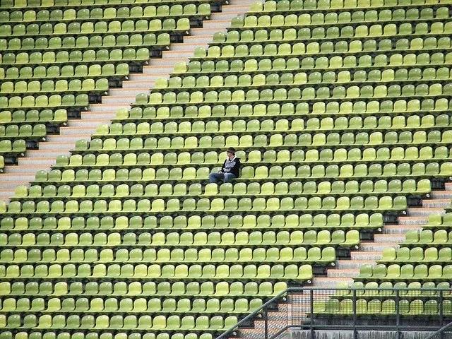 Estádio vazio coronavírus