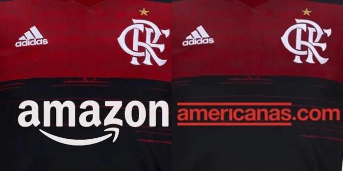 Amazon ou Lojas Americanas? Mesmo pagando menos, torcida do Flamengo prefere a Amazon