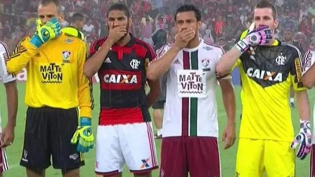 Hoje em lados opostos, há cinco anos, Flamengo e Fluminense estavam unidos contra a Ferj