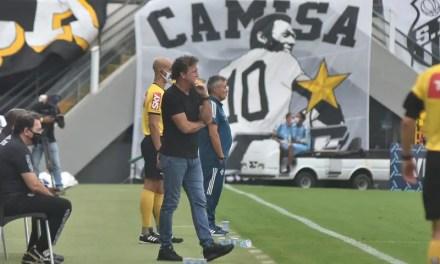 'Se fosse contra vocês, iam estar p..', diz Cuca para diretoria do Flamengo