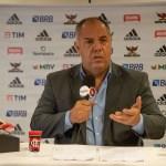 Marcos Braz afirma que saída de Rafinha foi legítima e que o Flamengo vai forte ao mercado