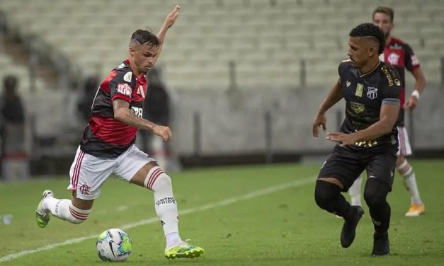 Ceará 2×0 Flamengo: um jogo sem campo e meio-campo