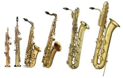 el saxofón modelos