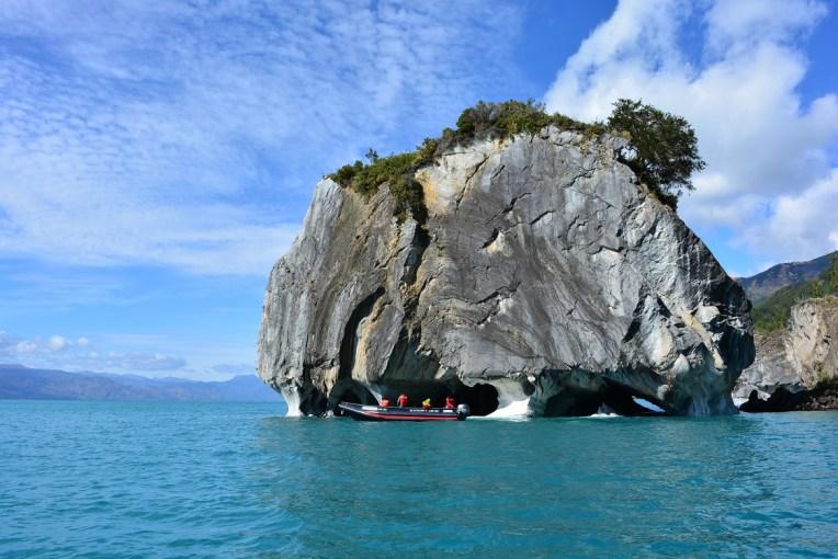 Navegando pela Capilla de Mármol
