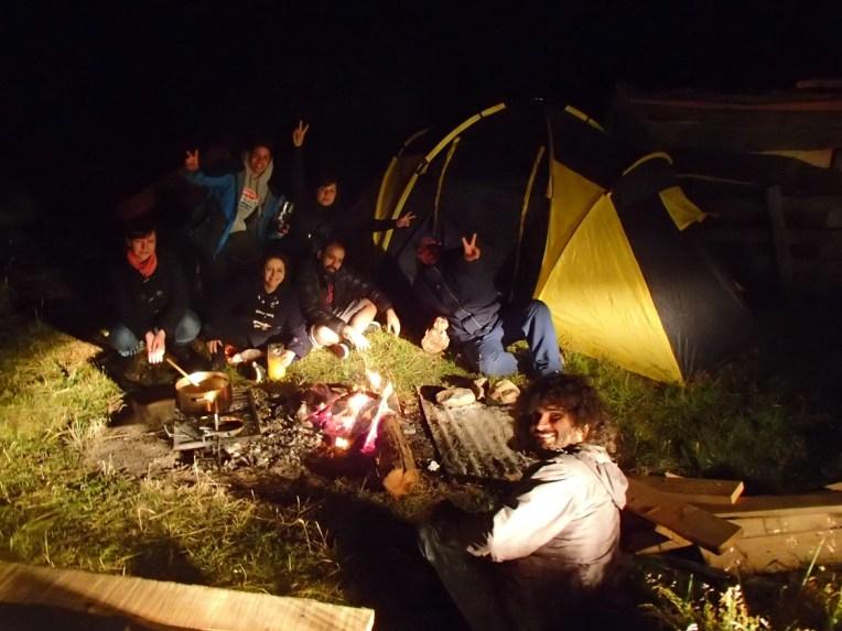Camping em Tierra del Fuego, Argentina