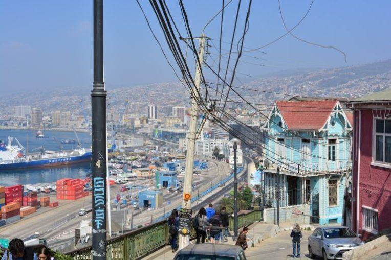 Bela vista do Cerro Santo Domingo, Valparaíso
