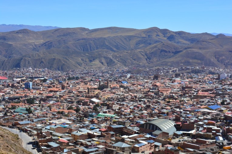 Vista panorâmica de Potosí