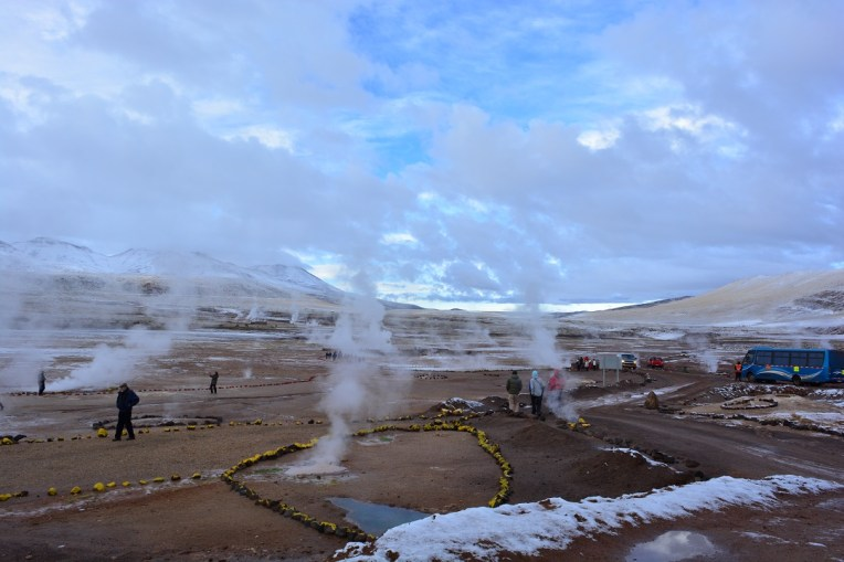 Geiser el Tatio, no deserto do Atacama