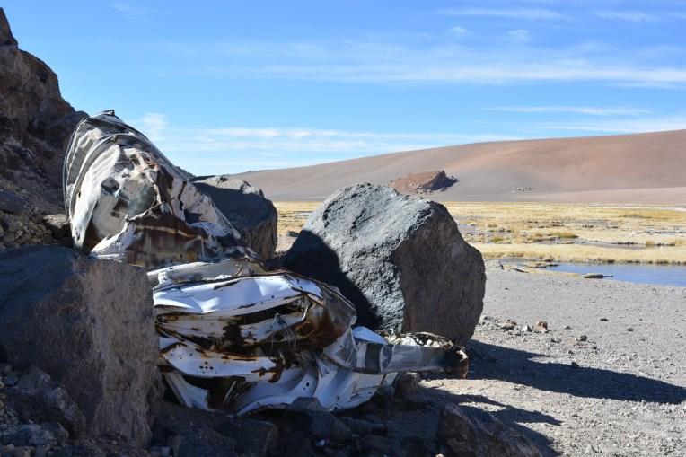 Acidente no Atacama