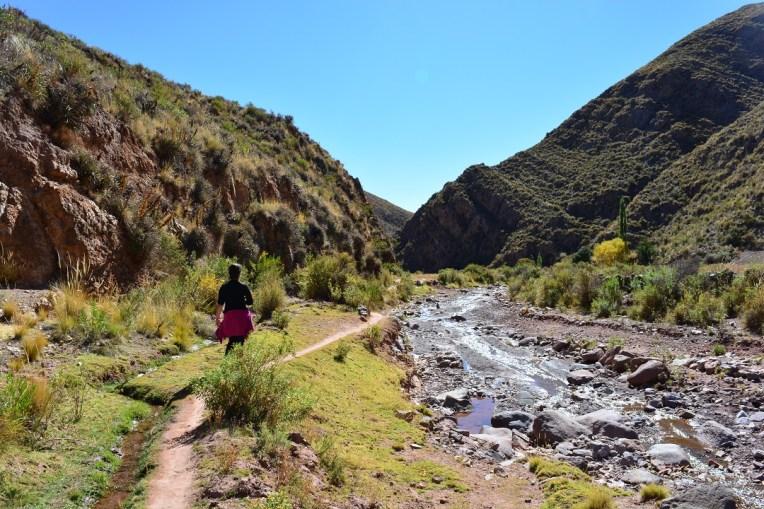 O caminho de Macha a Pucamayo é belíssimo.