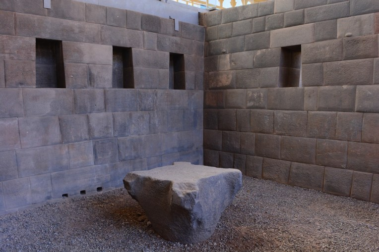 Mesa de sacrifícios em Qoricancha
