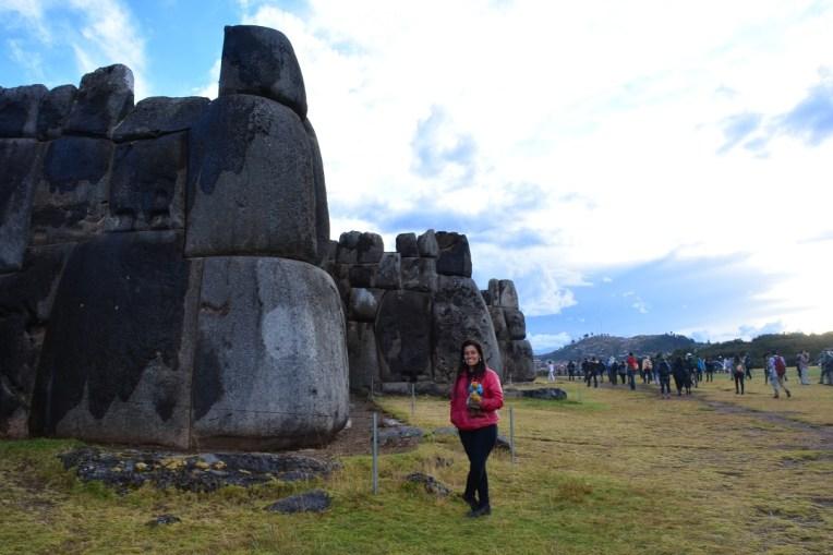 Pedras gigantes de Saqsayhuamán