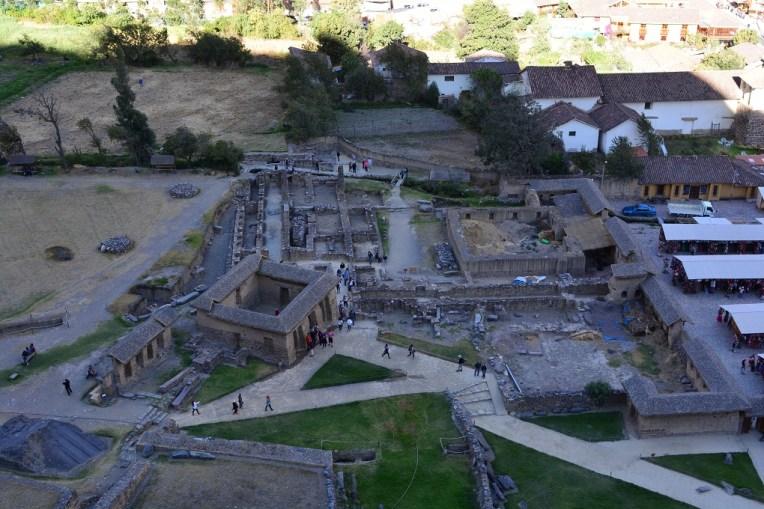 O sítio arqueológico de Ollantaytambo