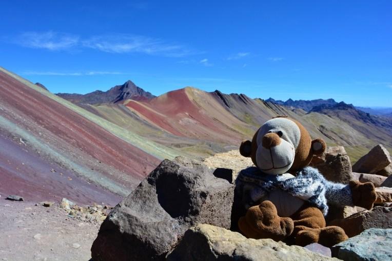 Mucuvinha subindo o Cerro Colorado