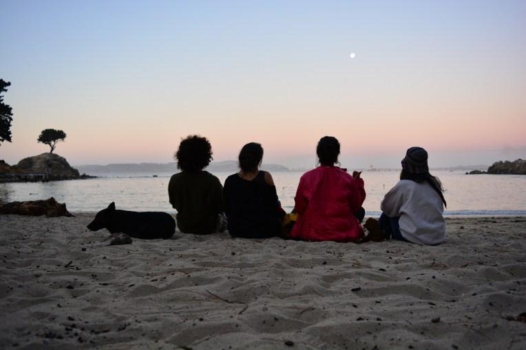 Com nossos amigos em Concepción, Chile