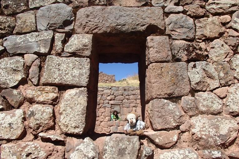 Ruínas incas de Tipón, em Cusco