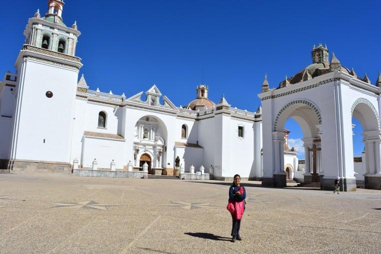 Belíssima igreja em Copacabana, Bolívia