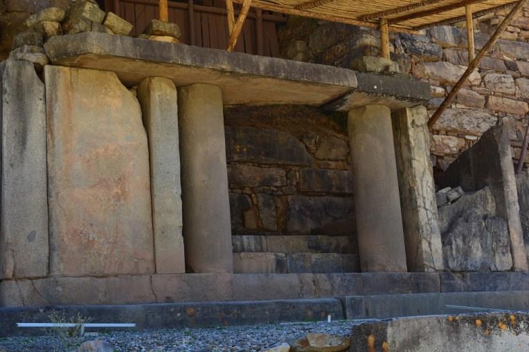 Porta do templo de Chavín