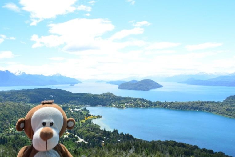 Mucuvinha aproveitando o verão em Bariloche