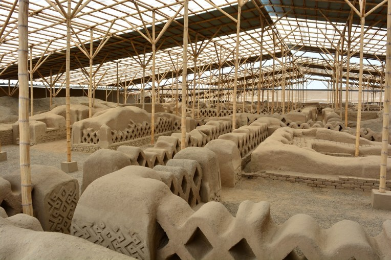 Ruínas do templo de Nik An, em Chan Chan