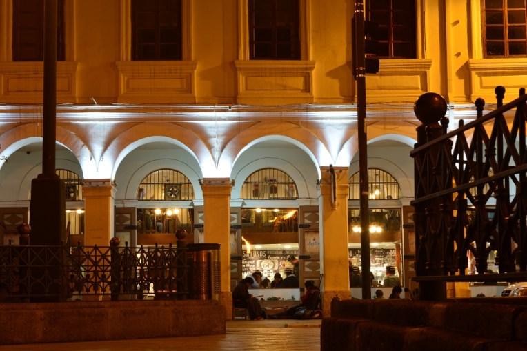 A noite de Cuenca