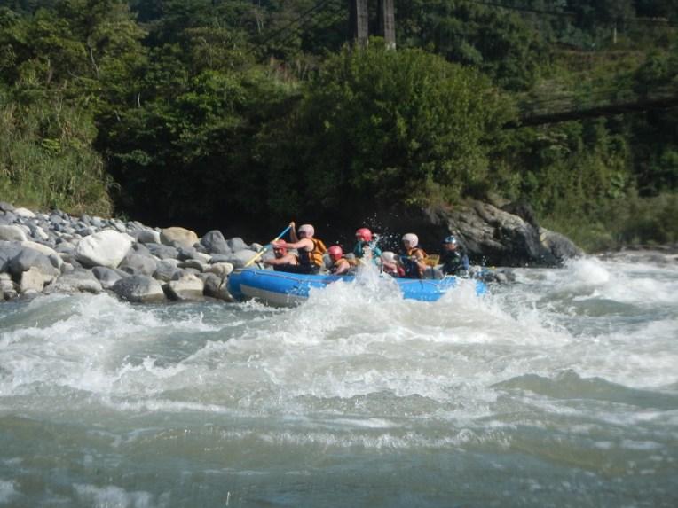 Rafting em Baños