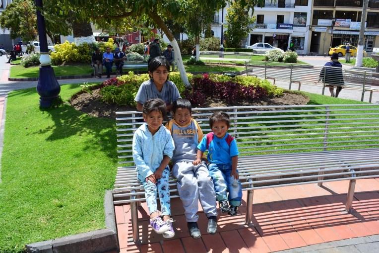 Crianças de Otavalo