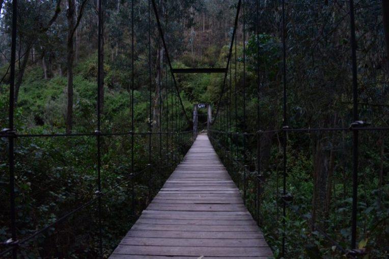 Ponte suspensa de Peguche