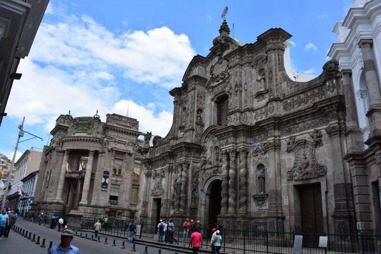 Compañia de Jesus - uma das mais belas igrejas de Quito