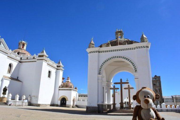 Mucuvinha na Basílica de Copacabana