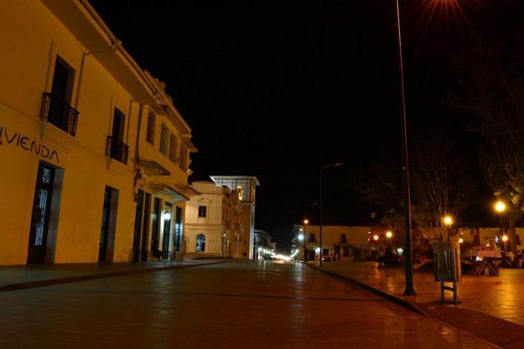 Popayán pela noite