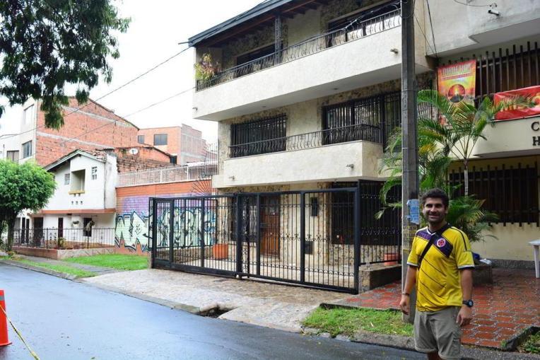 Local onde supostamente foi a morte de Pablo Escobar