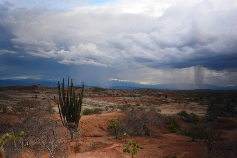 Tempestade no deserto de Tatacoa