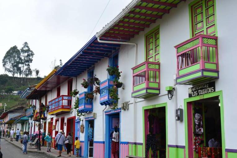 Belas casas coloniais de Salento