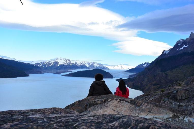 No Parque Nacional Torres del Paine, Chile